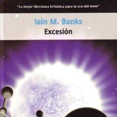 Libros de segunda mano: EXCESION - LA CULTURA - IAIN BANKS - LA FACTORIA - 2004 - RUSTICA - 348 PAGS. Lote 172148187