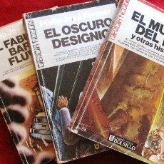 Libros de segunda mano: ULTRAMAR. PHILIP JOSE FARMER:EL MUNDO DEL RIO Y OTRAS HISTORIAS.3 VOLUMENES.1.095 PAG.. Lote 173160282