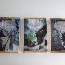 Libros de segunda mano: EL SEÑOR DE LOS ANILLOS 3 TOMOS TAPA DURA. Lote 173635350