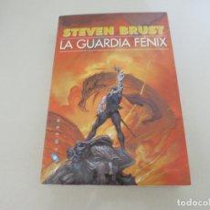 Libros de segunda mano: CIENCIA FICCION STEVEN BRUST - LA GUARDIA FÉNIX - EDICIONES GIGAMESH 2002. Lote 174014010
