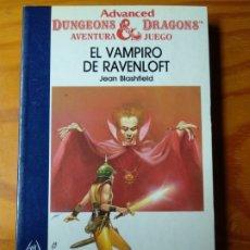 Libros de segunda mano: ADVANCED DUNGEONS & DRAGONS AVENTURA JUEGO Nº 6- EL VAMPIRO DE RAVENLOFT- DRAGONES Y MAZMORRAS- . Lote 174172904
