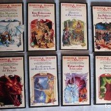 Libros de segunda mano: LOTE 10 LIBROS DUNGEONS AND DRAGONS TIMUN MAS. Lote 182714215