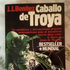 Libros de segunda mano: CABALLO DE TROYA. J.J. BENÍTEZ. AÑO 1984. EDITORIAL PLANETA. Lote 174580109
