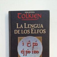 Libros de segunda mano: LA LENGUA DE LOS ELFOS. BIBLIOTECA TOLKIEN. LUIS GONZALEZ BAIXAULI. PLANETA. TDK414. Lote 175002519