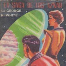 Libros de segunda mano: LA SAGA DE LOS AZNAR - GEORGE H. WHITE - NÚMERO 48: UN MILLÓN DE AÑOS - MUY BUEN ESTADO. Lote 175228293