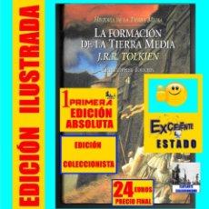 Libros de segunda mano: LA FORMACIÓN DE LA TIERRA MEDIA - HISTORIA - J.R.R. / CHRISTOPHER TOLKIEN - MINOTAURO 1ª EDICIÓN. Lote 175075660