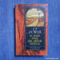 Libros de segunda mano: POWYS: EL BUEN VINO DEL SEÑOF WESTON. Lote 175548509