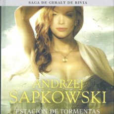 Libros de segunda mano: ESTACION DE TORMENTAS, PRECUELA SAGA GERALT RIVIA . ANDRZEJ SAPKOWSKI. Lote 175637354