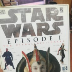 Libros de segunda mano: STAR WARS. EPISODE I. THE VISUAL DICTIONARY. Lote 176063765