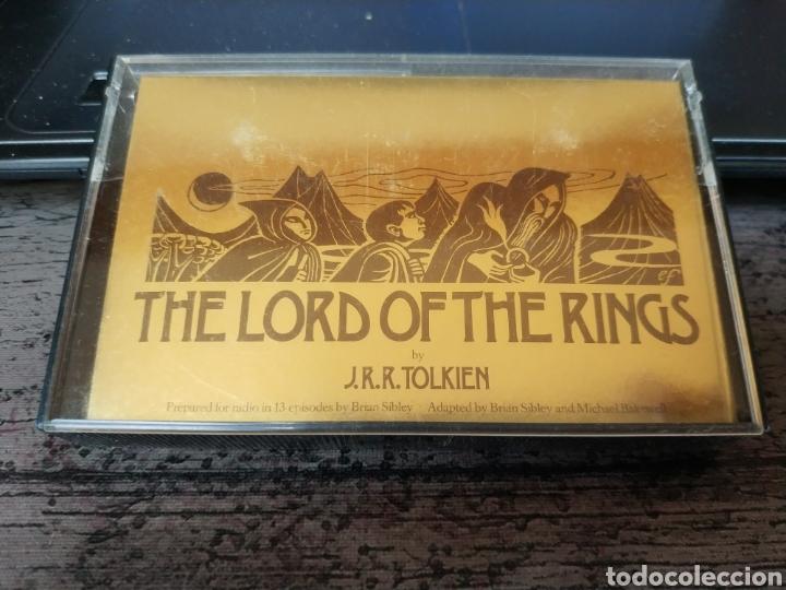 Libros de segunda mano: THE LORD OF THE RING - J.R.R. TOLKIEN (RAREZA EN AUDIO LIBRO EN 13 CASSETTES DE 1986, POR LA BBS) - Foto 4 - 176194347
