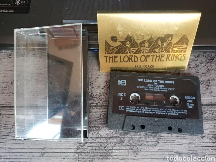 Libros de segunda mano: THE LORD OF THE RING - J.R.R. TOLKIEN (RAREZA EN AUDIO LIBRO EN 13 CASSETTES DE 1986, POR LA BBS) - Foto 5 - 176194347