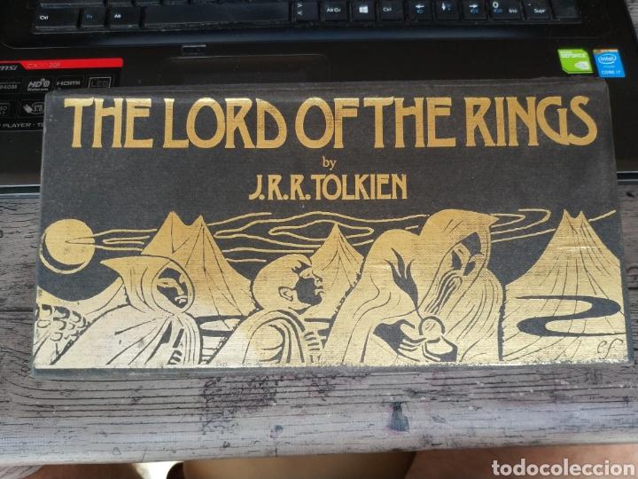 THE LORD OF THE RING - J.R.R. TOLKIEN (RAREZA EN AUDIO LIBRO EN 13 CASSETTES DE 1986, POR LA BBS) (Libros de Segunda Mano (posteriores a 1936) - Literatura - Narrativa - Ciencia Ficción y Fantasía)