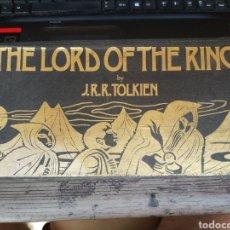 Libros de segunda mano: THE LORD OF THE RING - J.R.R. TOLKIEN (RAREZA EN AUDIO LIBRO EN 13 CASSETTES DE 1986, POR LA BBS). Lote 176194347