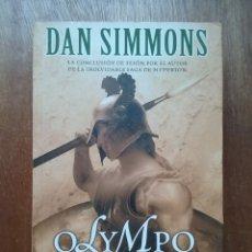 Libros de segunda mano: OLYMPO I LA GUERRA, DAN SIMMONS, NOVA, EDICIONES B, 2006. Lote 176221183