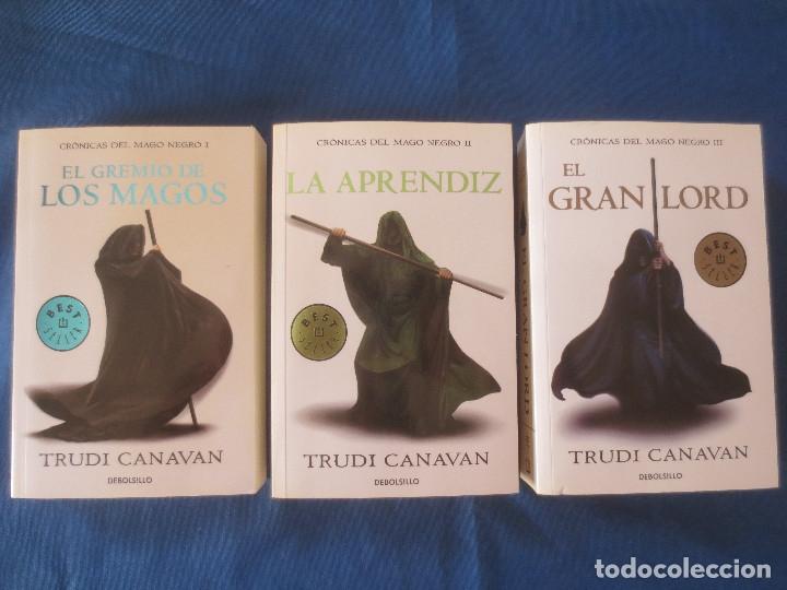 trudi canavan - trilogía crónicas del mago negr - Comprar