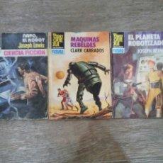 Libros de segunda mano: LOTE DE NOVELAS DE CIENCIA-FICCIÓN - EDITORIAL BRUGUERA. Lote 176324714