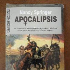 Libros de segunda mano: APOCALIPSIS (NANCY SPRINGER) CIENCIA FICCION ULTRAMAR Nº 124 - IMPECABLE PRECINTADO - OFI15J. Lote 176390429