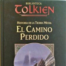 Libros de segunda mano: HISTORIA DE LA TIERRA MEDIA: EL CAMINO PERDIDO DE CHRISTOPHER TOLKIEN. Lote 176505810