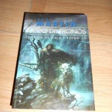 Libros de segunda mano: JUEGO DE TRONOS CANCION DE HIELO 1 - GEORGE R. R. MARTIN - GIGAMESH. Lote 176687800