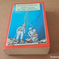 Libros de segunda mano: 20.000 LEGUAS DE VIAJE SUBMARINO. JULIO VERNE. Lote 176704719