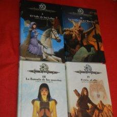 Libros de segunda mano: RESERVADO CRONICAS DE LA TORRE I - II - III - IV COMPLETA, DE LAURA GALLEGO - SM 2006-2007. Lote 176912369