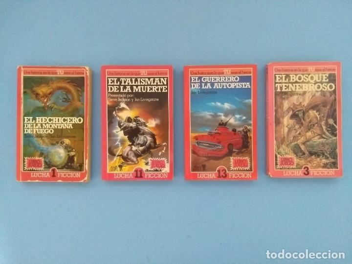 ALTEA JUNIOR - LUCHA FICCIÓN (Libros de Segunda Mano (posteriores a 1936) - Literatura - Narrativa - Ciencia Ficción y Fantasía)