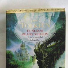 Libros de segunda mano: EL SEÑOR DE LOS ANILLOS EDICIÓN LUJO TAPA DURA. Lote 177474568