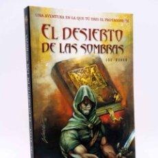 Libros de segunda mano: LOBO SOLITARIO 5. EL DESIERTO DE LAS SOMBRAS (JOE DEVER) TIMUN MAS, 2004. LIBRO JUEGO. Lote 177537618