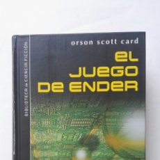 Libros de segunda mano: EL JUEGO DE ENDER LIBRO TAPA DURA. Lote 177623183