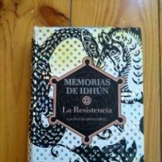 Libros de segunda mano: MEMORIAS DE IDHÚN - LA RESISTENCIA - LAURA GALLEGO GARCÍA. Lote 182674008