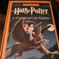 Libros de segunda mano: HARRY POTTER Y EL PRISIONERO DE AZKABAN. Lote 177689940