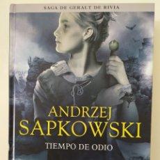Libros de segunda mano: TIEMPO DE ODIO DE ANDRZEJ SAPKOWSKI - SAGA DE GERALT DE RIVIA Nº 4. Lote 177784572