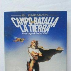 Libros de segunda mano: CAMPO DE BATALLA LA TIERRA UNA SAGA DEL AÑO 3000. Lote 177808065