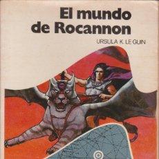 Libros de segunda mano: EL MUNDO DE ROCANNON - URSULA K. LE GUIN (BRUGUERA). Lote 177847378