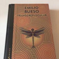 Libros de segunda mano: TRANSCREPUSCULAR Y ANTISOLAR EMILIO BUESO EDICIÓN GOLD LIMITADA 200 EJEMPLARES. Lote 178047677