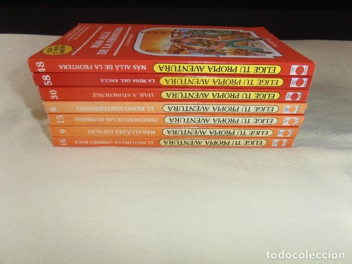 Libros de segunda mano: LOTE - ELIGE TU PROPIA AVENTURA -- TIMUN MAS - 7 LIBROS - Foto 2 - 178149313