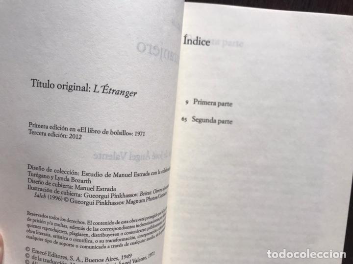 Libros de segunda mano: El extranjero. Camus. Alianza editorial - Foto 4 - 178164766