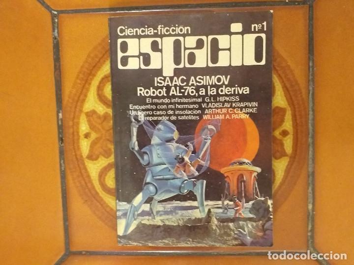 ISAAC ASIMOV. ROBOT AL-76, A LA DERIVA. CIENCIA FICCION ESPACIO Nº 1 (MEXICO, 1977) (Libros de Segunda Mano (posteriores a 1936) - Literatura - Narrativa - Ciencia Ficción y Fantasía)