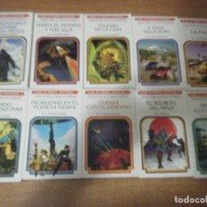 Libros de segunda mano: LOTE 10 LIBROJUEGOS ELIGE TU PROPIA AVENTURA SM RUSTICA PACK LIBROJUEGO ROL. Lote 178332788
