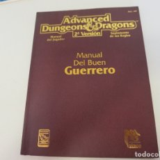Libros de segunda mano: ADVANCED DUNGEONS & DRAGONS MANUAL DEL BUEN GUERRERO . Lote 178334423