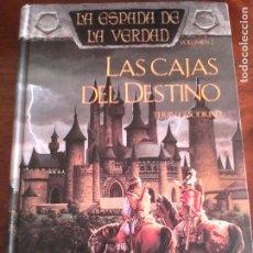Libros de segunda mano: TERRY GOODKIND: LAS CAJAS DEL DESTINO. LA ESPADA DE LA VERDAD 2.. Lote 178388720