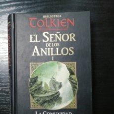 Libros de segunda mano: EL SEÑOR DE LOS ANILLOS I. LA COMUNIDAD DEL ANILLO PRIMERA PARTE. BIBLIOTECA TOLKIEN.. Lote 178644808