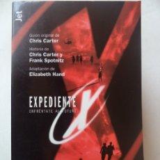 Libros de segunda mano: EXPEDIENTE X ENFRENTATE AL FUTURO Nº6 1ª EDICION 1998 170 PAGINAS P&J. Lote 178724420