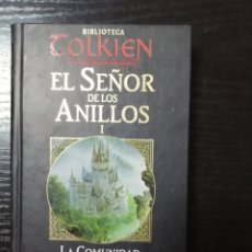 Libros de segunda mano: EL SEÑOR DE LOS ANILLOS I. LA COMUNIDAD DEL ANILLO SEGUNDA PARTE. BIBLIOTECA TOLKIEN.. Lote 178755145