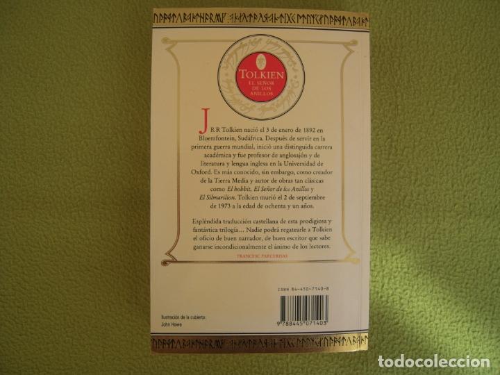 Libros de segunda mano: EL SEÑOR DE LOS ANILLOS I - LA COMUNIDAD DEL ANILLO JRR TOLKIEN - Foto 2 - 178790258