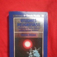 Libros de segunda mano: VISIONES PELIGROSAS I - HARLAN ELLISON. Lote 178851665