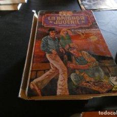 Libros de segunda mano: MENOS DE 500 GRAMOS LITERATURA JUVENIL LA BRIGADA JUVENIL 1 EL ENIGMA DEL TESORO SUMERGIDO. Lote 178903390