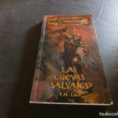 Libros de segunda mano: DUNGEONS AND DRAGONS LAS CUEVAS SALVAJES 2003. Lote 178903850