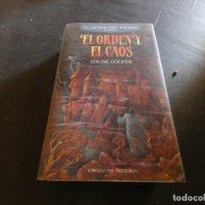 Libros de segunda mano: EL SEÑOR DEL TIEMPO LIBRO 3 EL ORDEN Y EL CAOS LOUISE COOPER . Lote 178904278