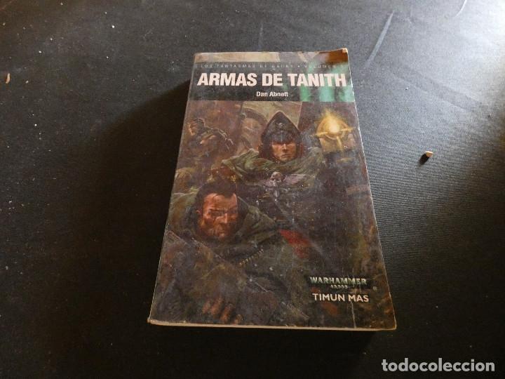 WARHAMMER ARMAS DE TANITH PESA 300 GRAMOS (Libros de Segunda Mano (posteriores a 1936) - Literatura - Narrativa - Ciencia Ficción y Fantasía)